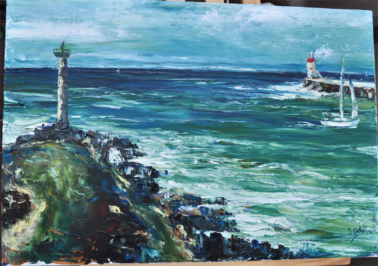 Isabelle geli artiste peintre capbreton office de tourisme - Office de tourisme cap breton ...